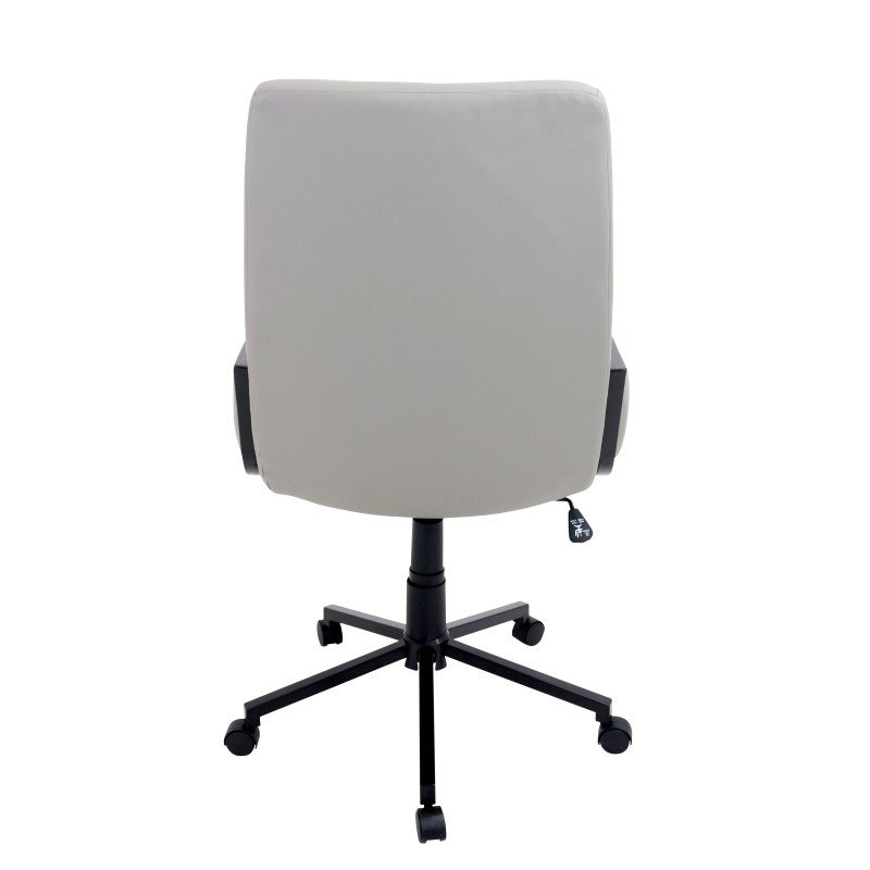 Lumisource Governor Height Adjustable Office Chair in Black and Tan