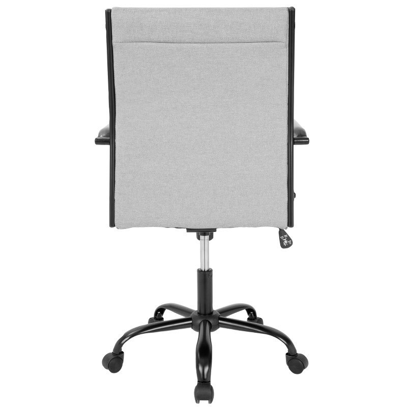 Lumisource Master Contemporary Fabric Office Chair in Light Grey (OFC-AC-MSTF LGY)
