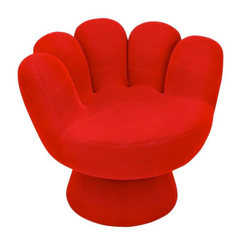 Lumisource Mitt Chair in Red