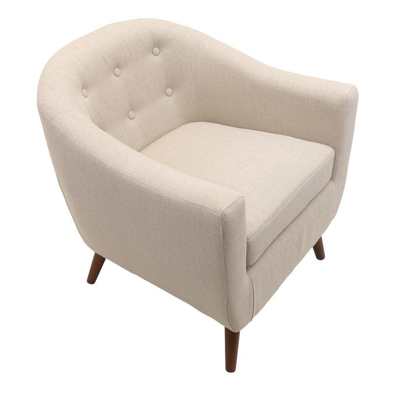 Lumisource Rockwell Chair in Cream