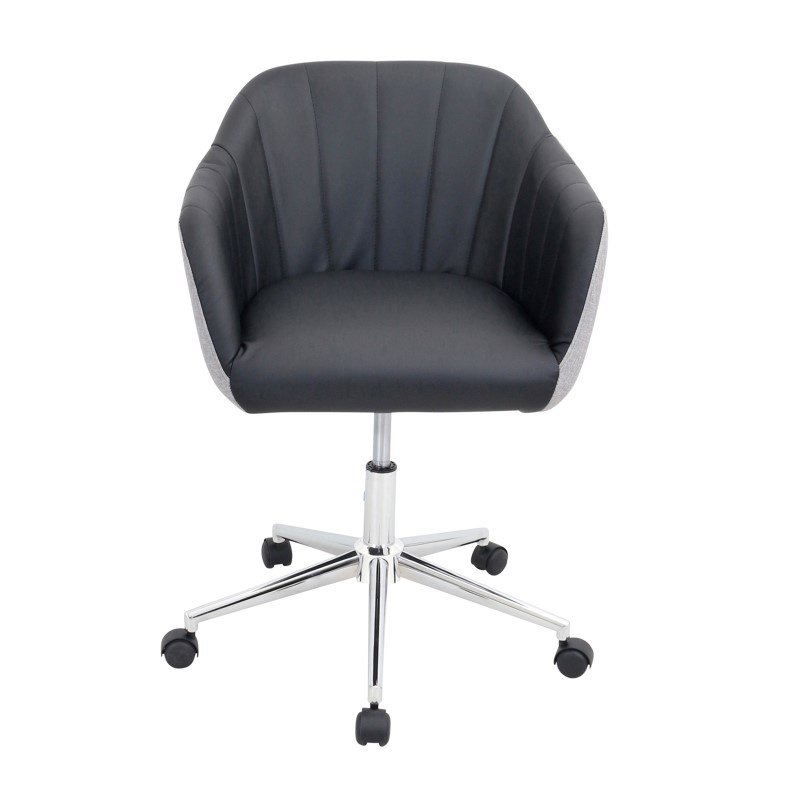 Lumisource Shelton Office Chair in Grey and Black