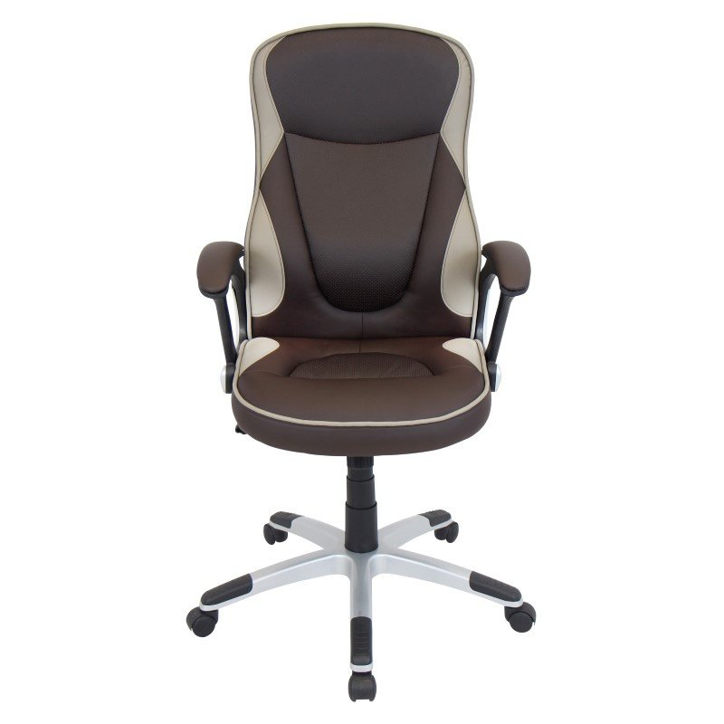 Lumisource Storm Height Adjustable Office Chair in Brown