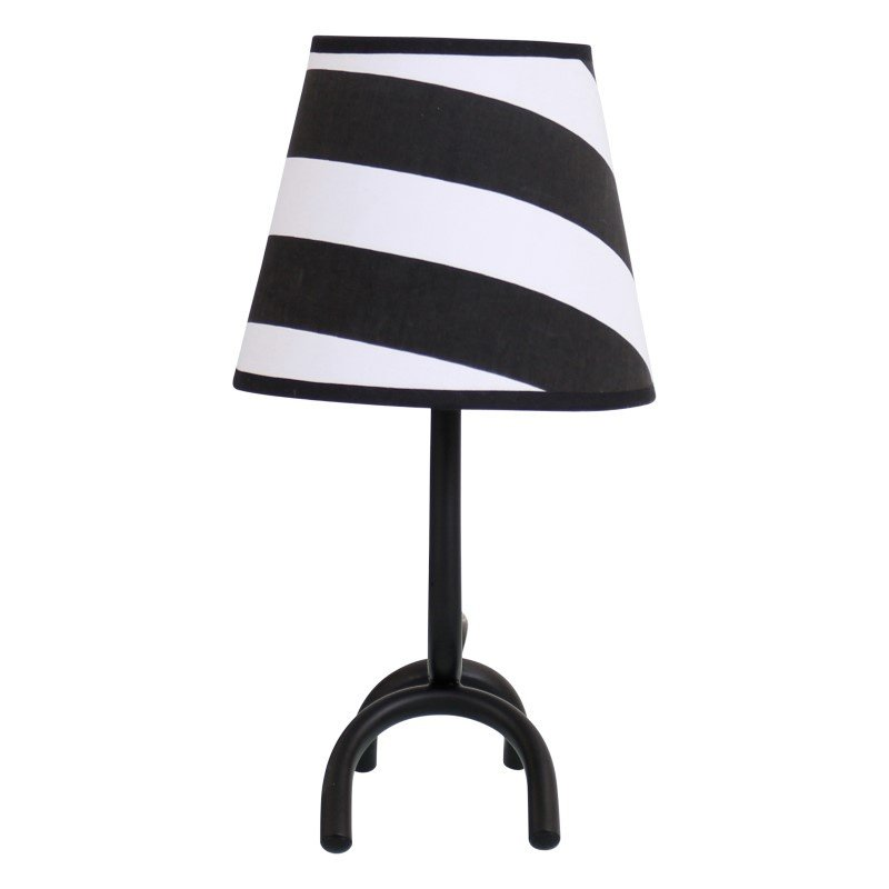 Lumisource Woof Table Lamp in Black and White
