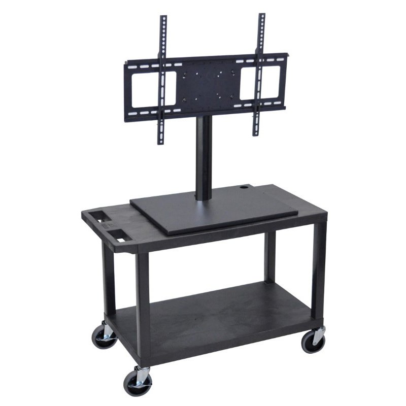 Luxor 2 Shelf Flat Panel TV Cart (ET25-B)
