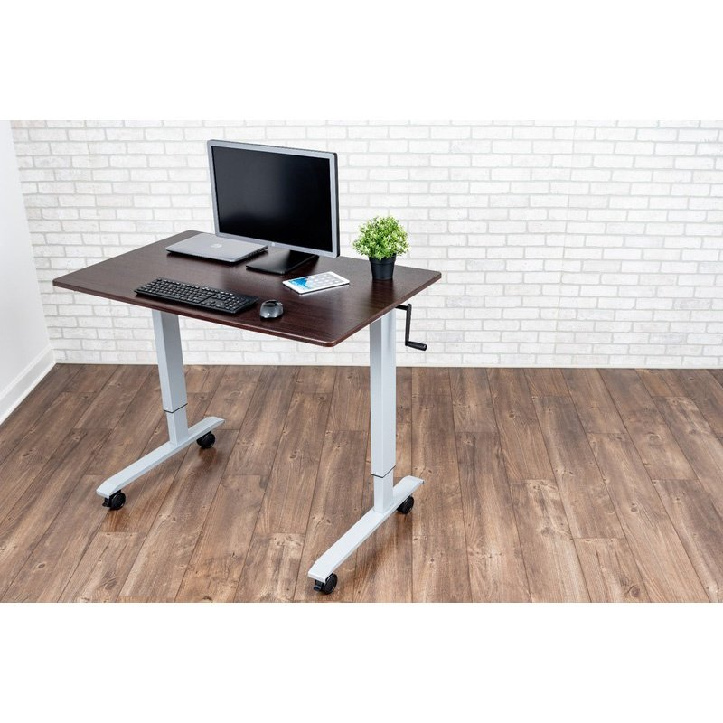"Luxor 48"" Crank Adjustable Stand Up Desk (STANDUP-CF48-DW)"