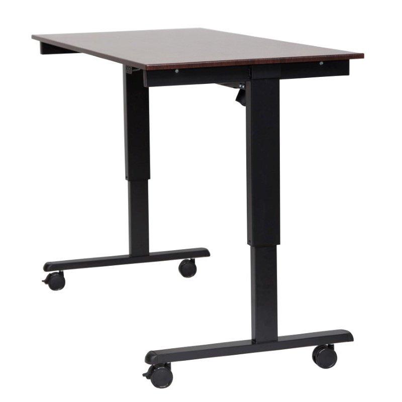 "Luxor 60"" Electric Standing Desk Black / Walnut (STANDE-60-BK/DW)"