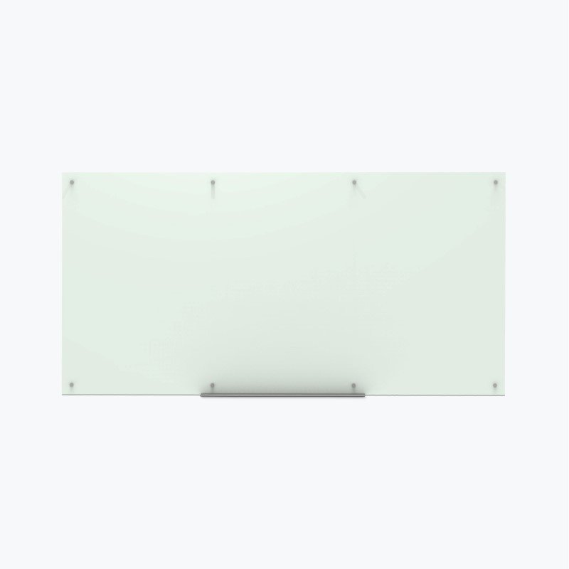 Luxor Magnetic Wall-Mounted Glass Board 96x48 in Frosted (WGB9648M)