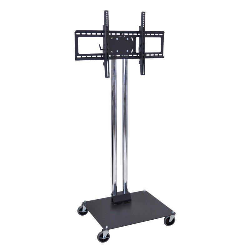 Luxor Mobile Flat Panel TV Stand and Mount (WPSMS62CH-4)