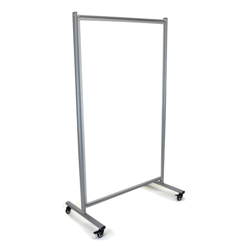 Luxor Mobile Whiteboard Room Divider (MD4072W)