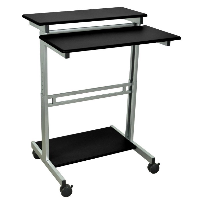 Luxor Stand Up Workstation - Black (STANDUP-31.5-B)