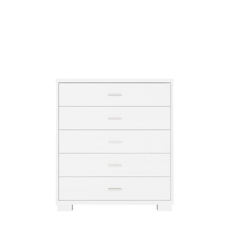 Manhattan Comfort Astor Dressers in White