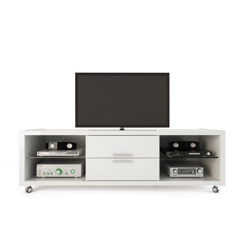 Manhattan Comfort Belvedere 1.0 TV Stands & Entertainment Centers in White