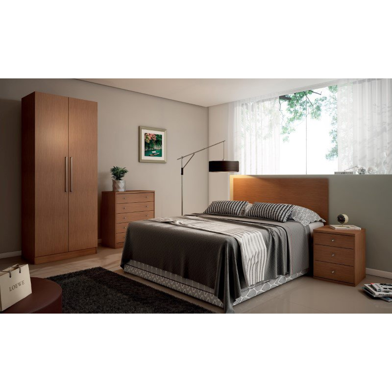 Manhattan Comfort Chelsea 2.0 35.43 inch Wide Basic Wardrobe Closet 2 with 3 Drawers and 2 Doors in Maple Cream
