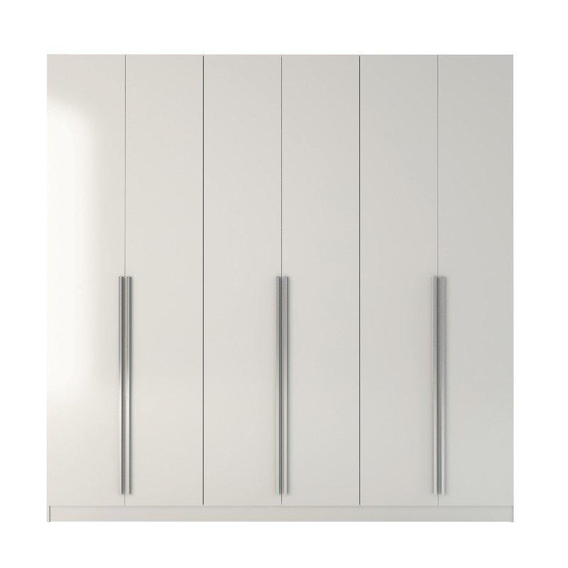 Manhattan Comfort Eldridge Wardrobe Armoires in White