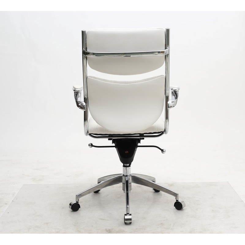 Manhattan Comfort Ergonmic High Back Verdi Office Chair in White
