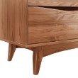 """Manhattan Comfort Hamilton 43.93"""" Wide Dresser with 8 Drawers in Dark Brown (CS48906)"""