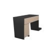 Manhattan Comfort Randalls Gamer Desk 1.0 with 2 Drawers in Black (148AMC153)