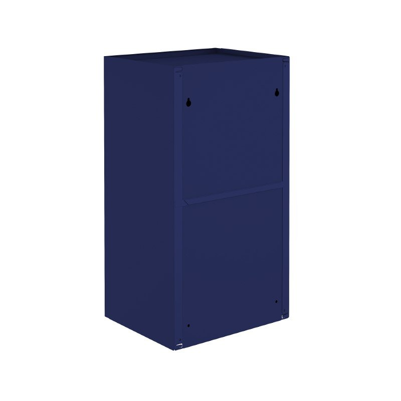"Manhattan Comfort Smart 13.77"" Floating Cabinet in Blue (14GMC4)"