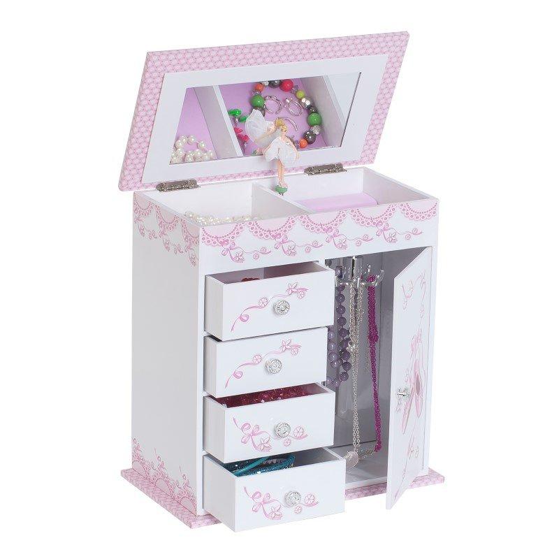 Mele & Co. Cristiana Girl's Musical Ballerina Jewelry Box