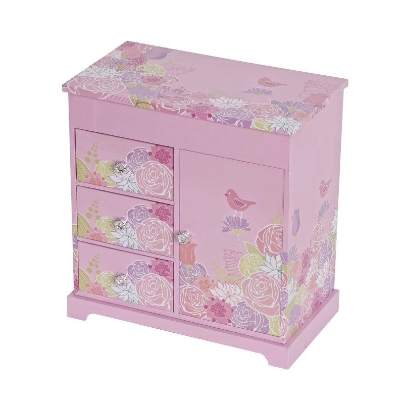 Mele & Co. Pearl Girl's Musical Ballerina Jewelry Box