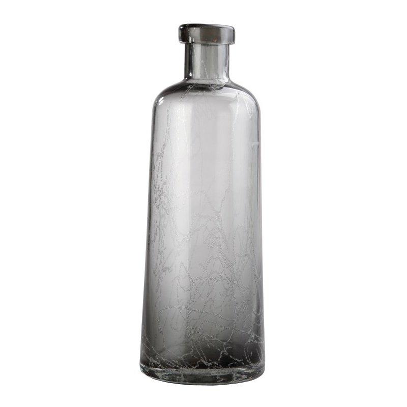 Moe's Home Collection Ahab Bottle Vase in Grey (YU-1008-15)