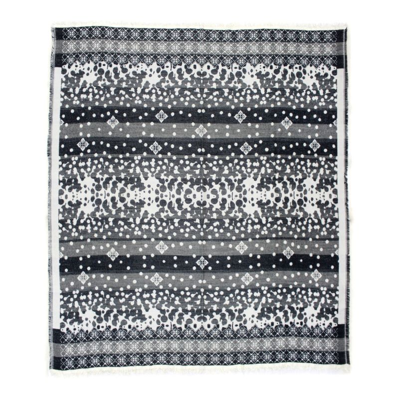 Moe's Home Collection Allfresco Throw Light Grey (OX-1021-29)