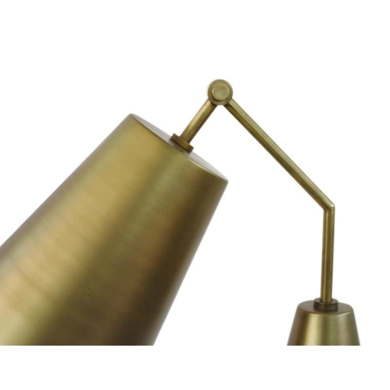 Moe's Home Collection Amato Floor Lamp in Gold (FD-1000-32)