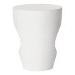 Moe's Home Collection Aylard Outdoor Stool Ivory in Cream White (BQ-1003-05)