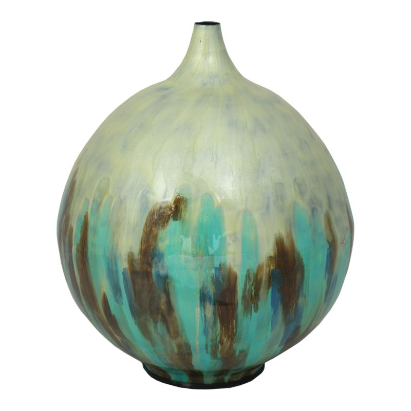 Moe's Home Collection Azurite Vase Small (IX-1075-26)