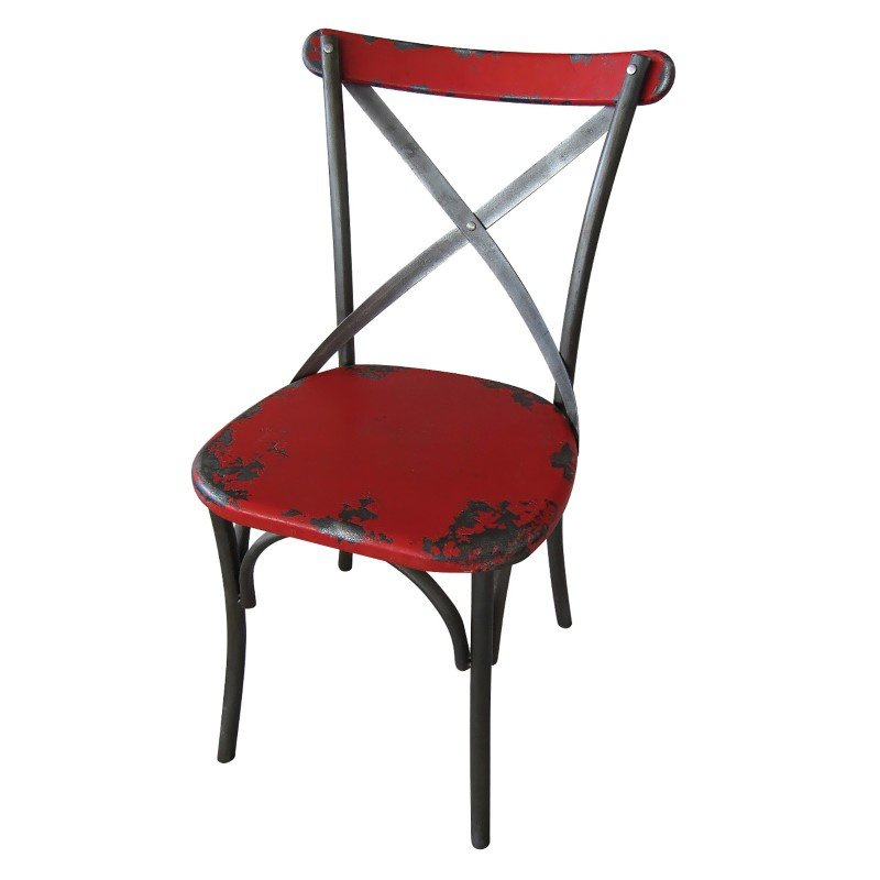 Moe's Home Collection Bali Chair Red - Set of 2 (HU-1041-04)