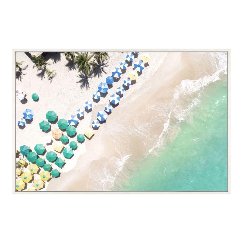 Moe's Home Collection Beach Umbrellas Wall Decor (FX-1224-37)