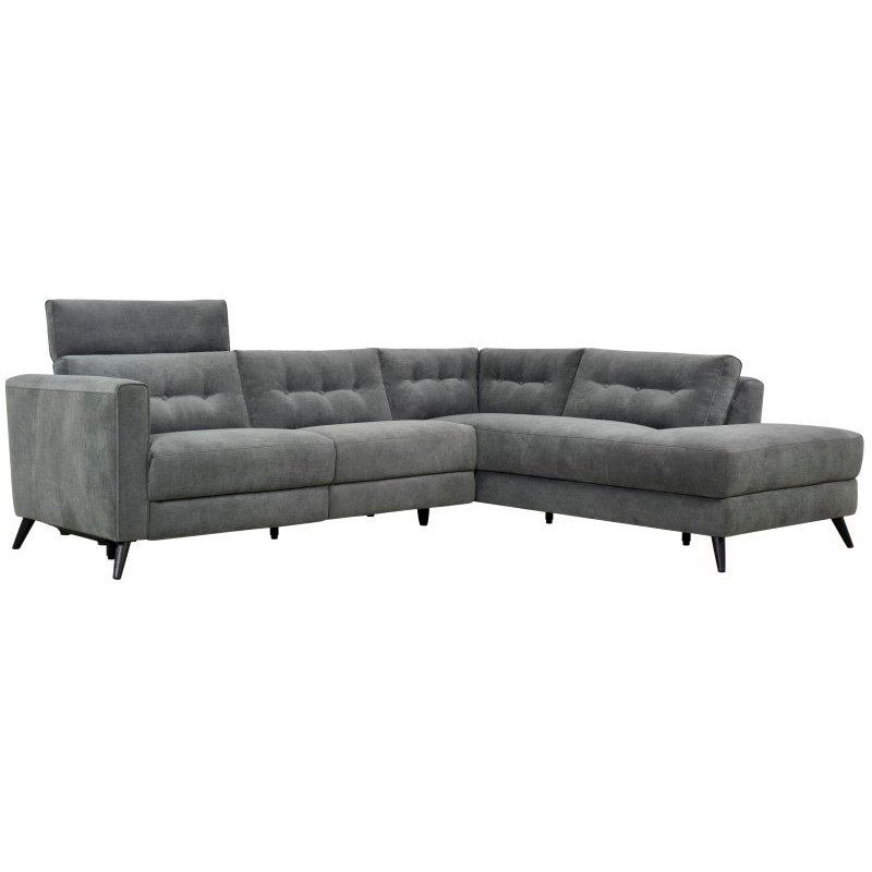 Moe's Home Collection Beaumont Power Sectional Right Dark Grey (WH-1017-25-R)