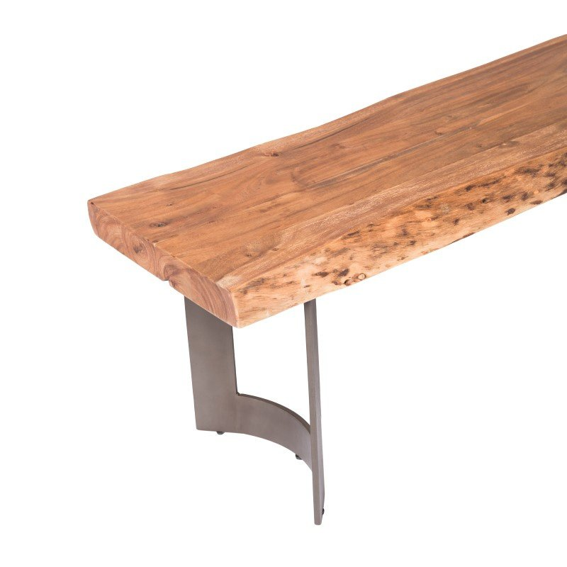 Moe's Home Collection Bent Bench in Smoked (VE-1002-03)