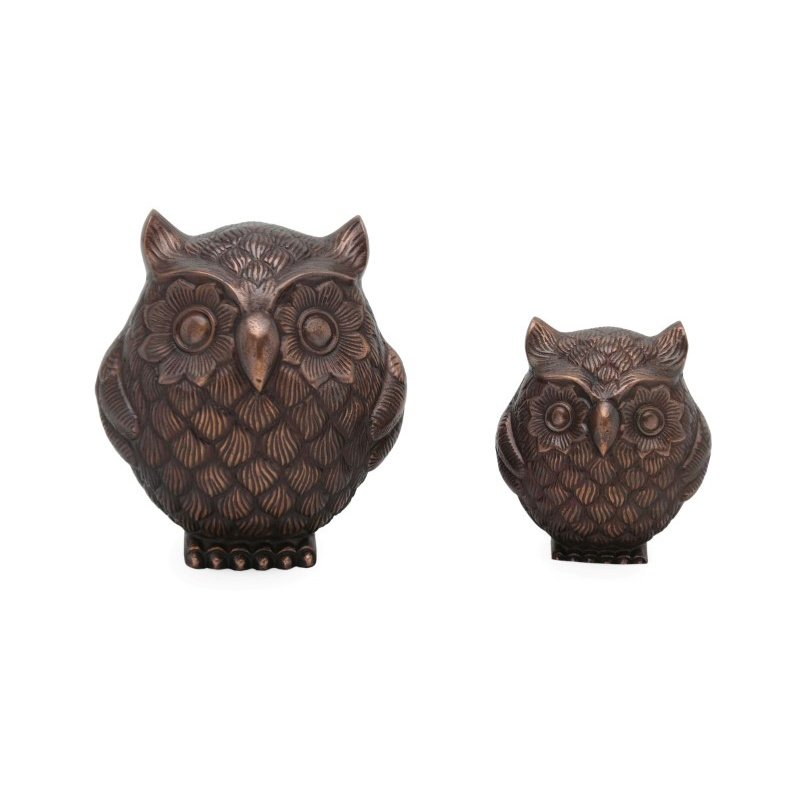 Moe's Home Collection Bernstein Owls - Set Of 2 (NM-1015-31)