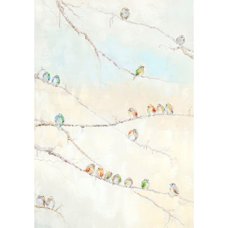 Moe's Home Collection Birds On A Wire Wall Decor (RE-1164-37)