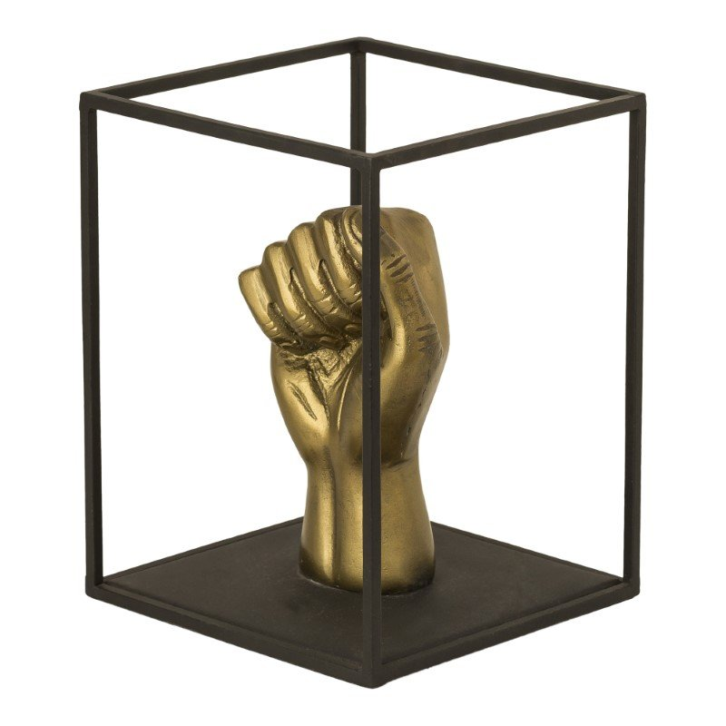 Moe's Home Collection Bronze Fist Sculpture in Anitque Brass (ZY-1025-51)