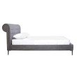 Moe's Home Collection Canal King Bed in Grey (RN-1043-25)