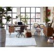 Moe's Home Collection Cayenne Rug 5' x 8' Ivory Rectangle (JH-1021-05)