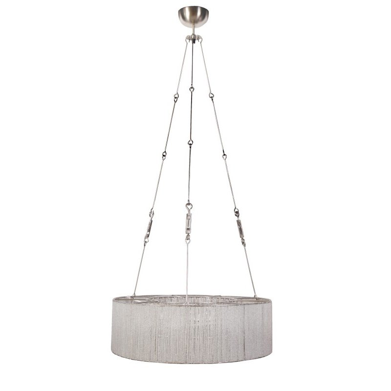 Moe's Home Collection Chantal Pendant Lamp in White (JX-1001-18)