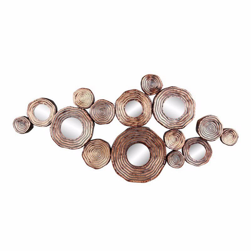 Moe's Home Collection Circle Cluster Gold Wall Decor (HW-1051-32)