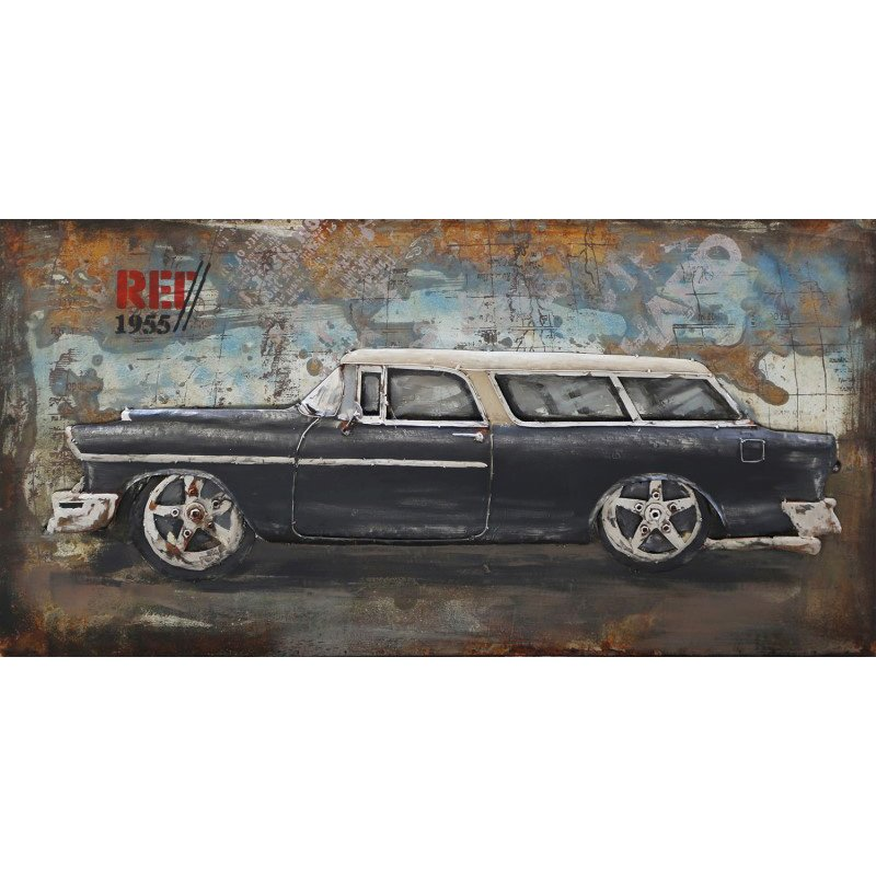 Moe's Home Collection Classic Car Wall Art (FS-1009-37)