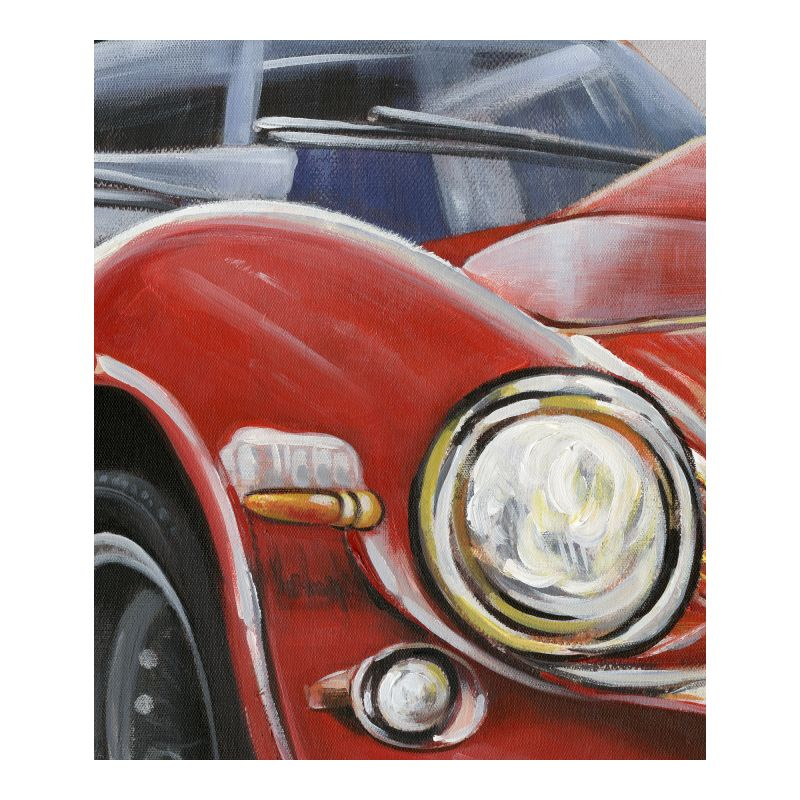 Moe's Home Collection Classic Sportscar Red Wall Decor (RE-1192-37)