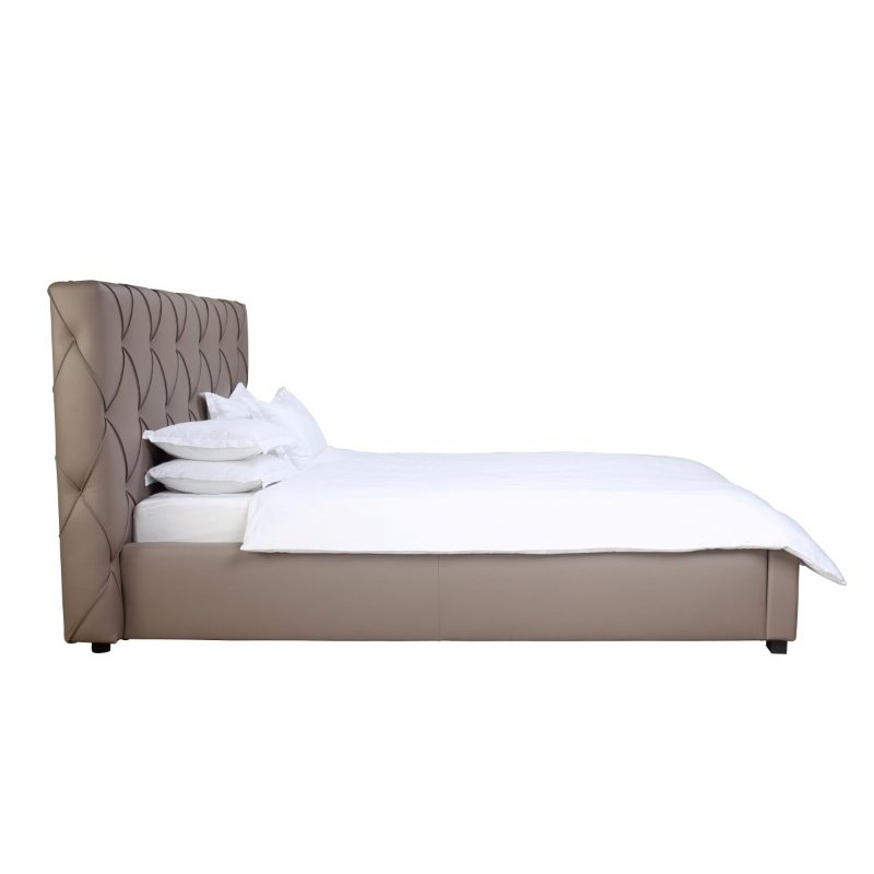 Moe's Home Collection Claudia King Bed in Grey (RN-1025-45)