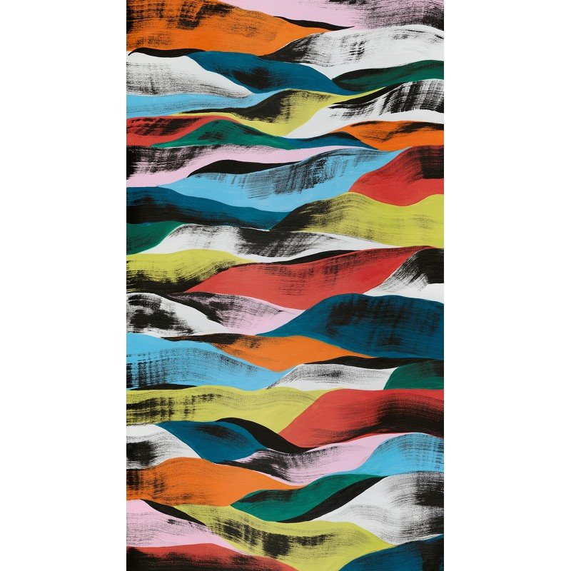 Moe's Home Collection Colorful Ribbons Wall Decor (RE-1158-37)