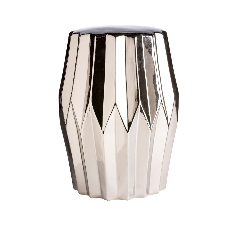 Moe's Home Collection Column Stool in Silver (XE-1002-30)