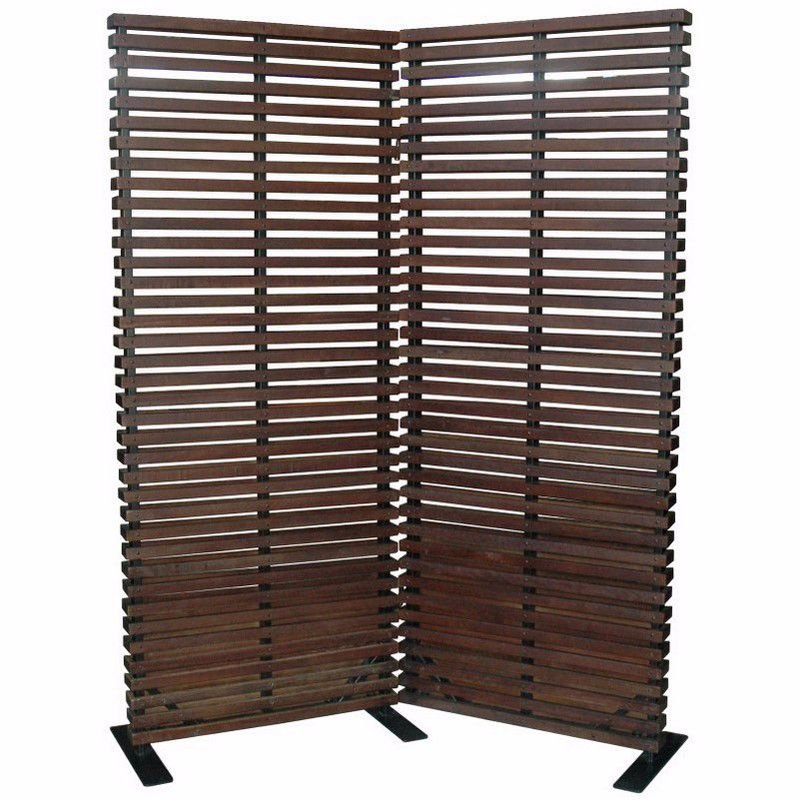 Moe's Home Collection Dasha Room Divider in Brown (CV-1008-24)