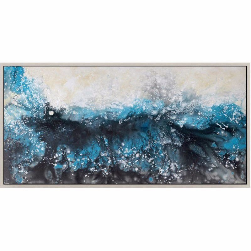 Moe's Home Collection Deluge Wall Decor with Frame (FX-1141-37)
