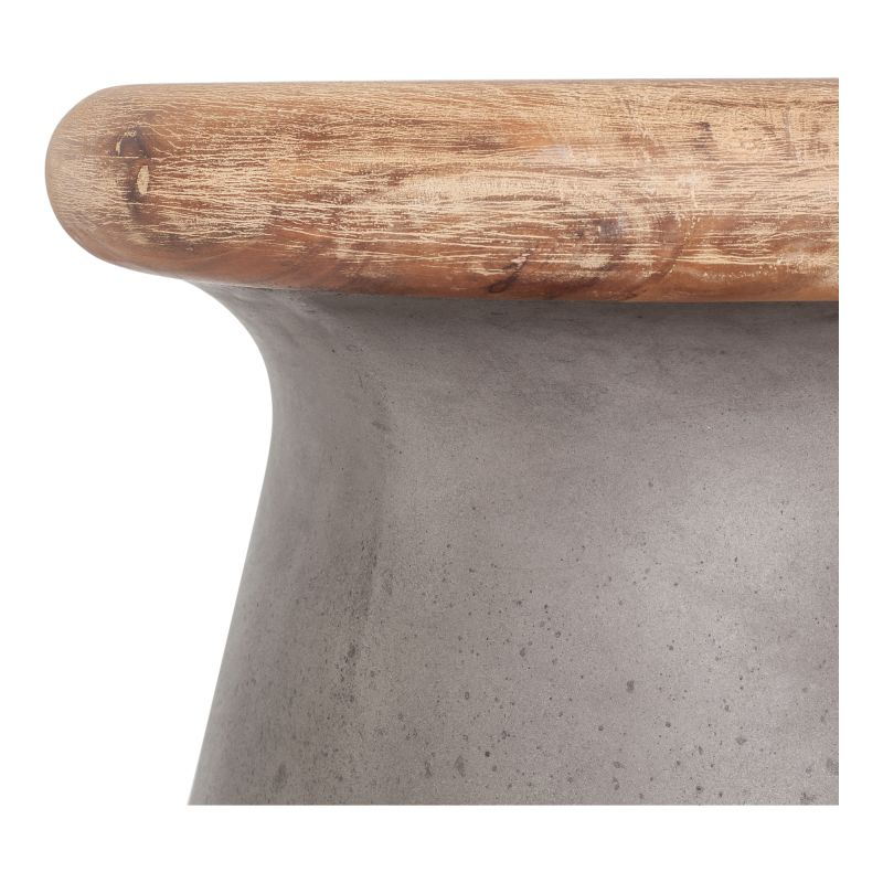 Moe's Home Collection Earthstar Outdoor Stool (BQ-1024-25)