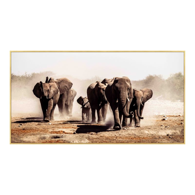 Moe's Home Collection Elephant Herd Wall Decor (FX-1227-37)