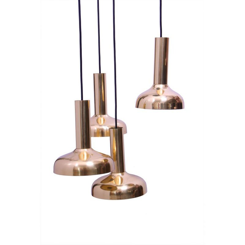 Moe's Home Collection Enzo 4 Light Pendant Lamp (OR-1001-37)